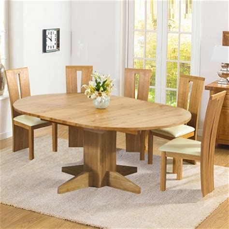 big oak dining table monty solid oak extending dining table with 6 arley