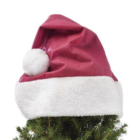 santa hats for plants the green head