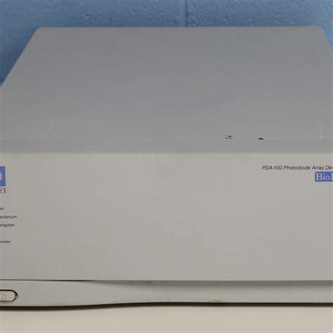 hplc photodiode array dionex biolc pda 100 photodiode array detector