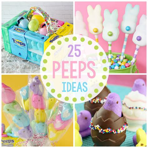 easter ideals 25 fun peeps ideas for easter crazy little projects