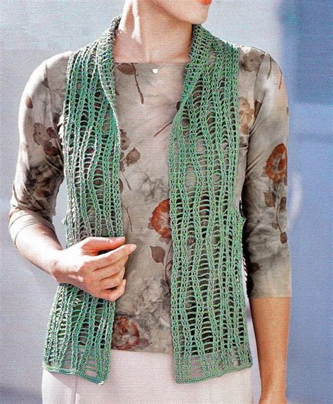 free pattern vest crochet crochet sweaters crochet vest pattern free lace vest