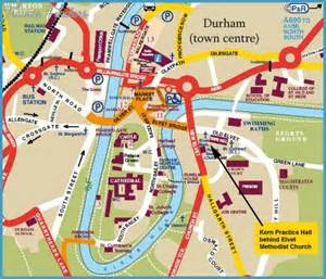durham map travel map vacations travelsfinders