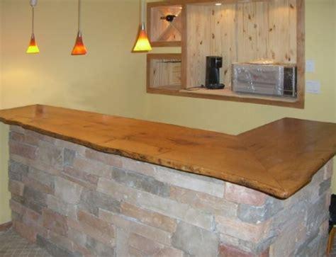 oak bar top wood counter kitchen antique woodworks