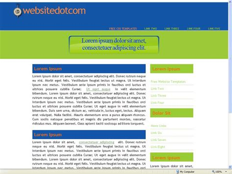 html business templates free with css 16 free html website templates images free business html