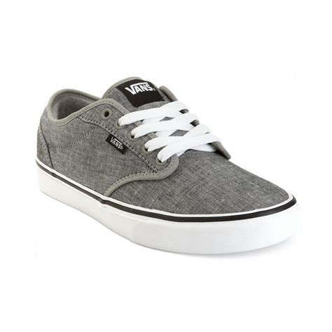 vans atwood sneakers in gray for grey sea spray lyst