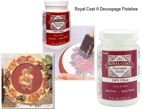 Royal Coat Decoupage Finish - royal coat decoupage finish clear