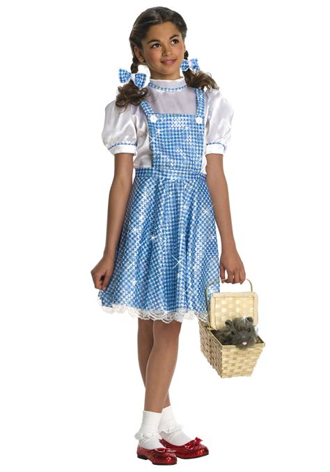 Oz Dres Mickey Whiite sequin dorothy costume wizard of oz dorothy