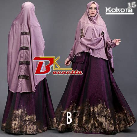 Kokora 10 By Baenetta kokora 15 b pusat busana gaun pesta muslim modern