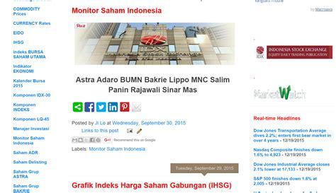 Monitor Saham Contoh Format Laporan Keuangan Versi Ifrs Pu