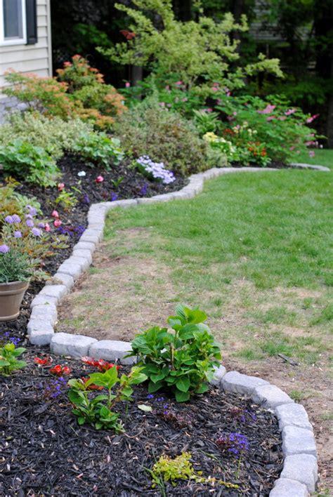 10 garden edging ideas with bricks and rocks garden