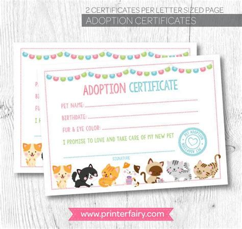 adoption certificate 25 best ideas about adoption certificate on