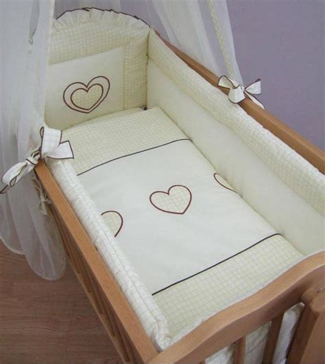 Swinging Crib Bedding Sets 10 Crib Baby Bedding Set 90x40 Cm Fits Swinging Rocking Cradle Ebay