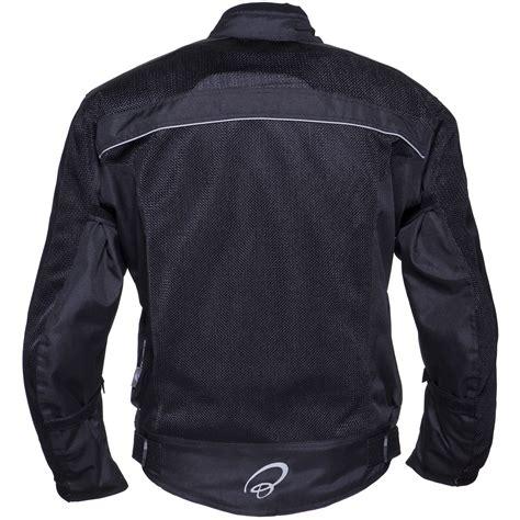 mesh motorcycle jacket black piston motorbike summer scooter mesh