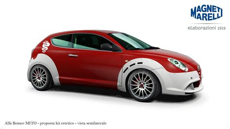 modified alfa romeo mito kit one by magneti marelli