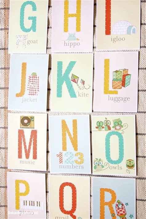 printable alphabet letters nursery free printable alphabet letter nursery art sewing cards
