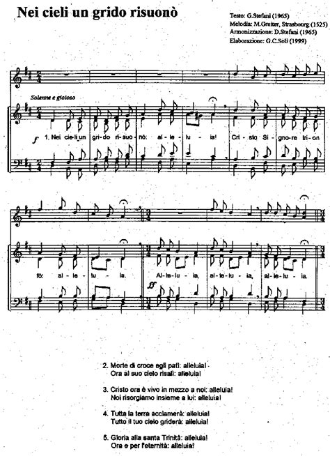passeranno i cieli testo alleluia testo chiesa canti o suoni a messa ecco 7 regole