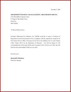 Request Letter Sample Doc Request Letter