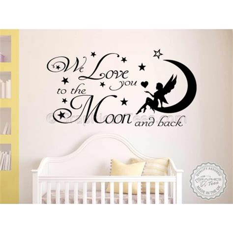 Nursery Wall Sticker Quotes baby nursery wall stickers quotes home design