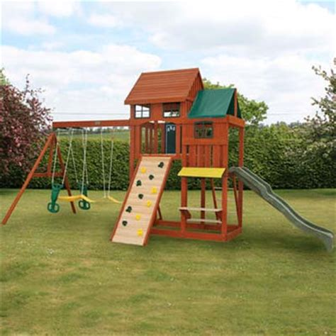 backyard kids playsets selwood mayfield playset your kids attractive backyard playset