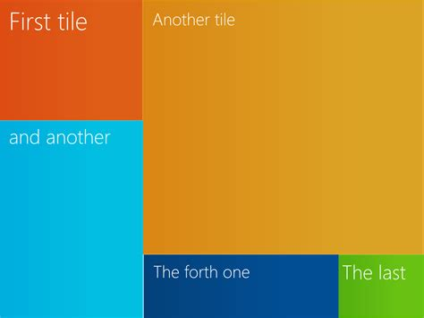 Table Example Tile Layout With Css And Html Stack Overflow