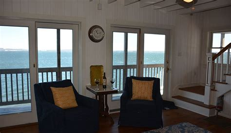 maine oceanfront vacation rentals bayside sunshine cottage
