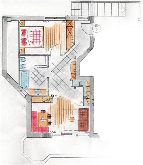 capricorno a letto appartamento con vista panoramica nelle dolomiti