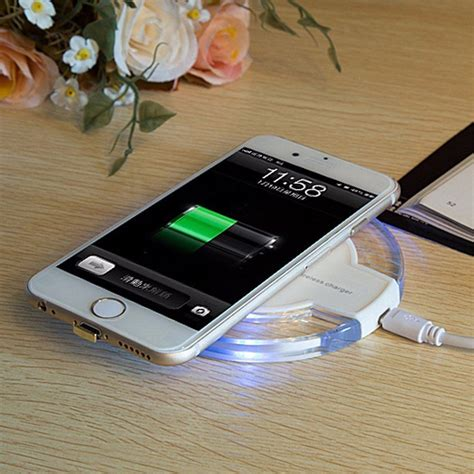 Iphone Wireless Charging Mat by Wireless Battery Charger Pad Receiver Charging Dock For