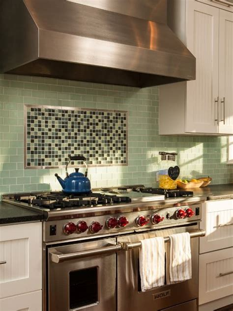 kitchen tile designs behind stove accent tile above range houzz