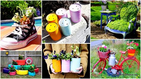 How To Landscape A Yard On A Budget 24 Insanely Creative Diy Garden Container Projects That