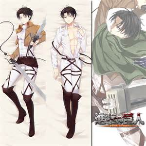 brand new levi ackerman attack on titan dakimakura