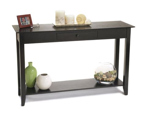 Top Shelf Concepts by Convenience Concepts American Heritage Console Table With