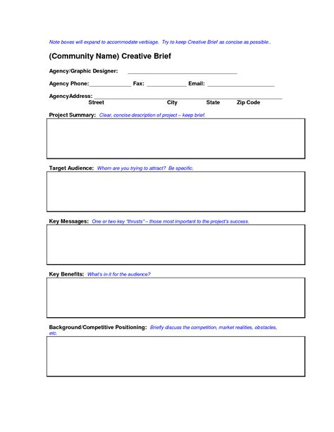 brief template 28 how to write a creative brief template creative