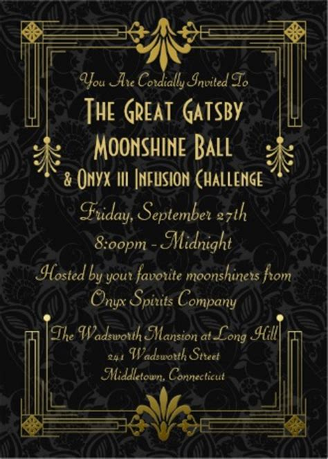 great gatsby themed ball september 27 2013 onyx moonshine presents great gatsby