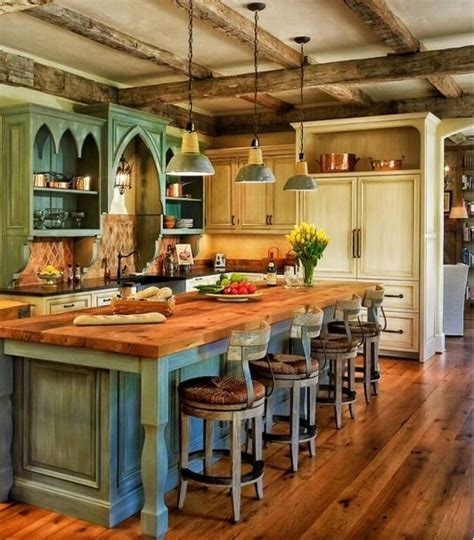 country style kitchen islands best 25 rustic kitchen island ideas on