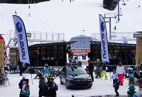 subaru winter subaru elevates winterfest with more partners and builds
