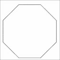 how to draw octagon shape