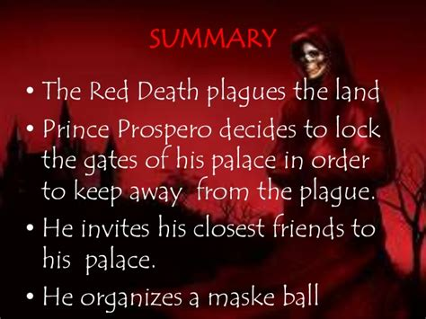 masque of the red death color symbolism the masque of the red death