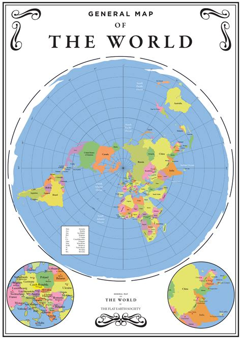 youtube   flat earth maps  world