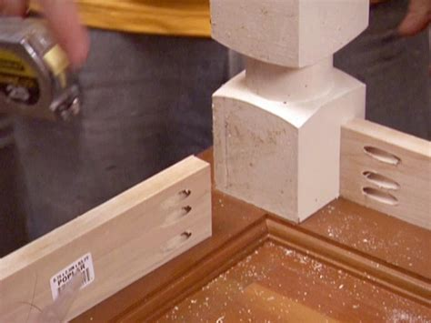 diy attach table legs how to build a dining table from an door and posts hgtv