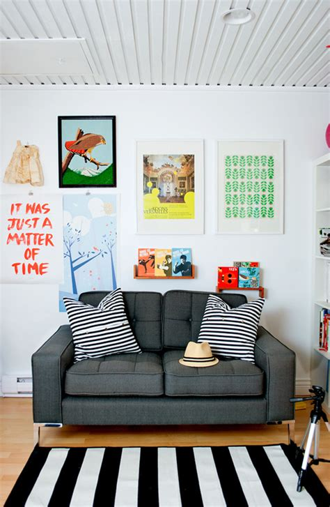 Cool Posters For Living Room by Let It Be Cool Wall Displays Above The Sofa Living