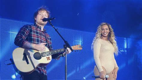 ed sheeran brands beyonce duet beyonce and ed sheeran drop gorgeous duet