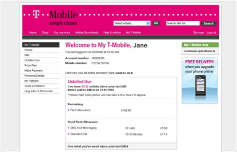 T Mobile Gift Card To Pay Bill - view or print your bill and payments t mobile support