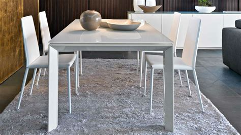 calligaris bench omnia glass dining table by calligaris