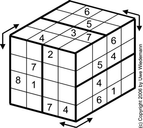 printable sudoku cube sudoku variants www sachsentext de