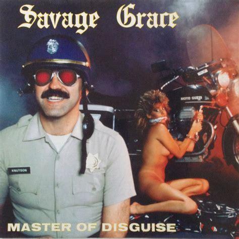 Cd Zorv Album Savage savage grace master of disguise vinyl lp album at discogs