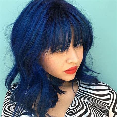 sapphire hair color 25 best ideas about indigo hair on blue