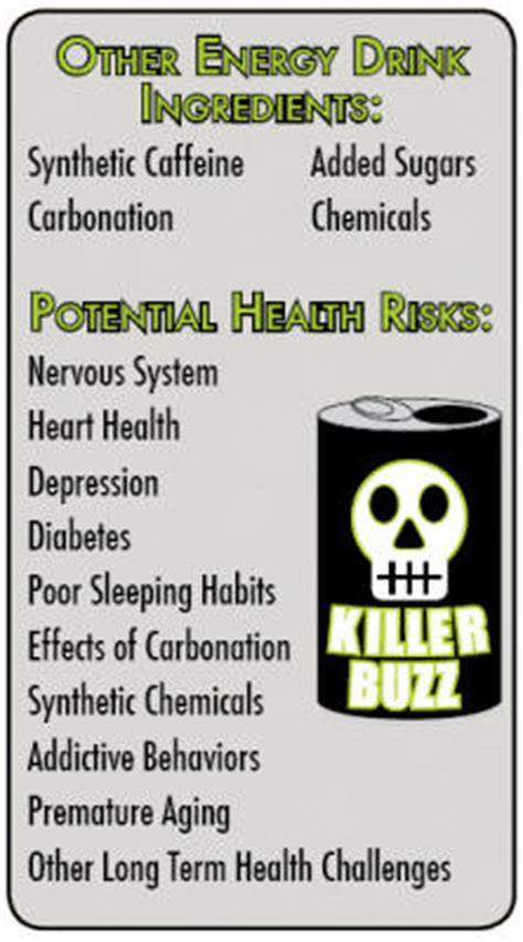 the energy drink side effects sugar free organic energy and sports drink