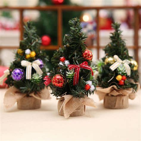 small table top xmas gifts aliexpress buy 20cm mini tree decor desk table festival ornament small