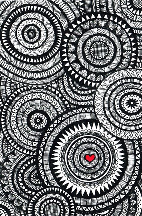 black and white zentangle wallpaper black and white zentangle circle collage circles design