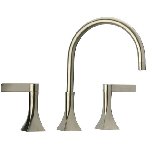 La Toscana Faucet by Elix 8 In Widespread 2 Handle Mid Arc Bathroom Faucet In